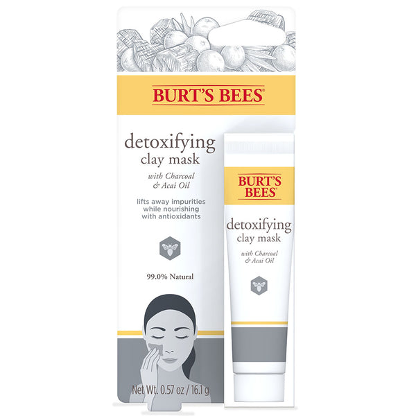 Burt's Bees Detoxifying Clay Mask (.57oz)