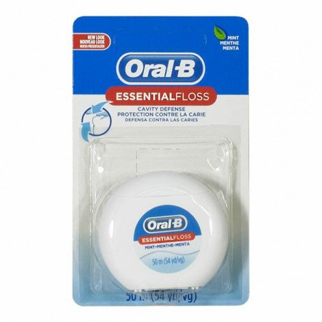 Oral-B Waxed Mint Floss (54yd)