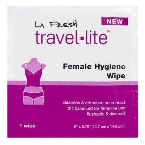 La Fresh Travel Lite Female Hygiene Wipe (1pk)