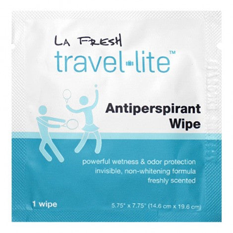 La Fresh Travel Lite Antiperspirant Wipe (1pk)
