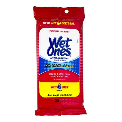 Wet Ones Antibacterial Wipes (20pcs)