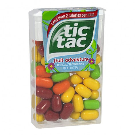 Tic Tac Fruit Adventure Mints