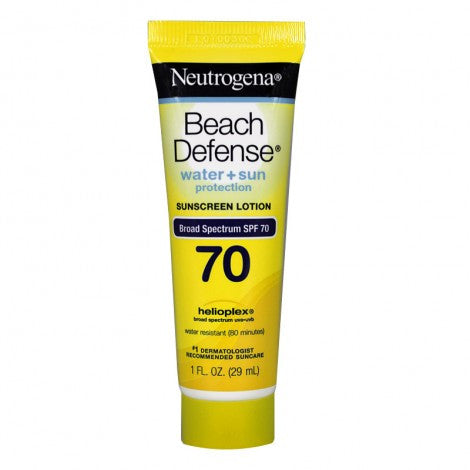 Neutrogena Beach Defense Sunscreen Lotion SPF 70 (1oz)