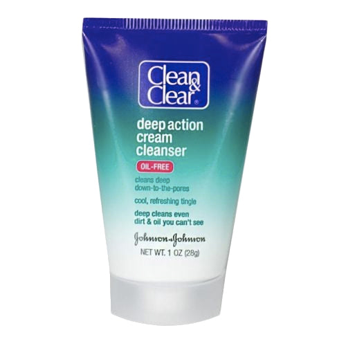 Clean & Clear Deep Action Cream Cleanser (1oz)