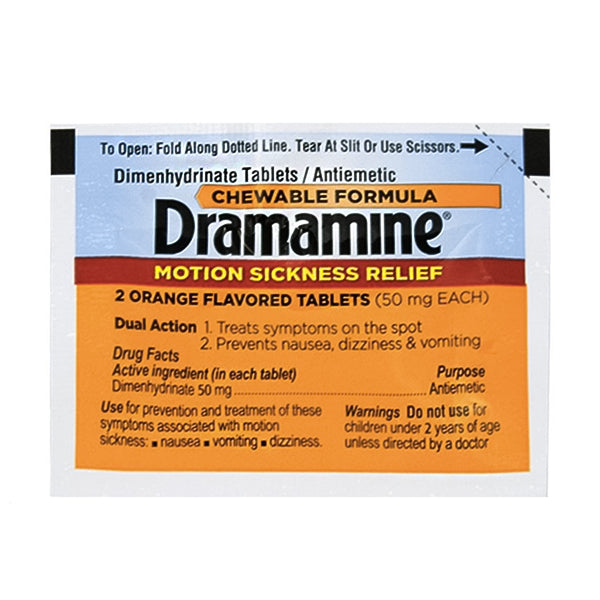 Dramamine Motion Sickness Relief Tablets (2pk)