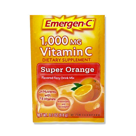 Emergen-C Super Orange 1,000 mg (1pouch) <b>(MAX 6 per order)</b>
