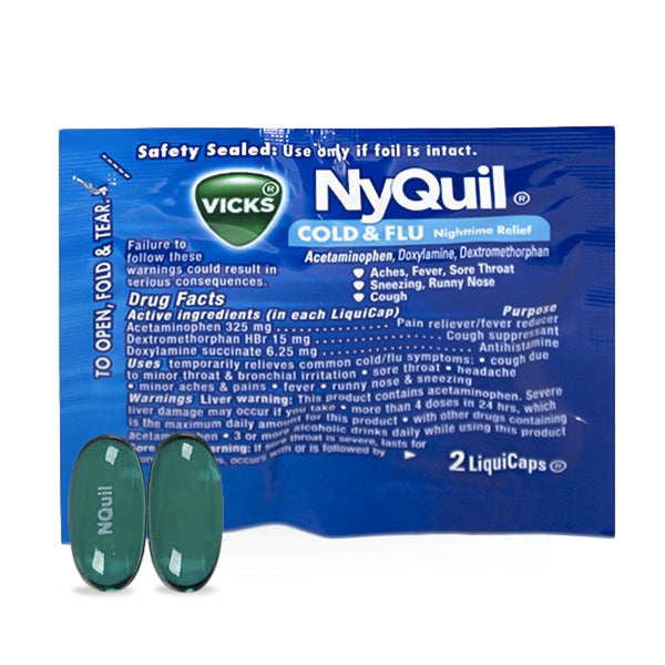 NyQuil Cold & Flu Relief (2pk)