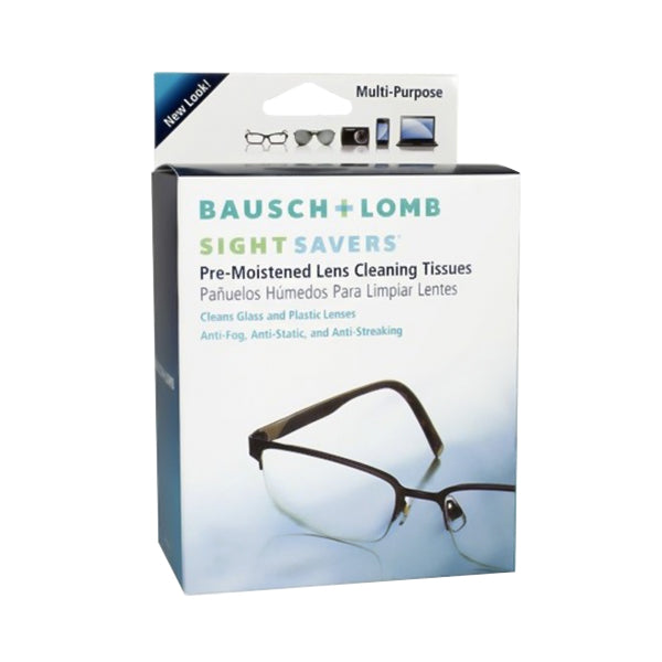 Bausch & Lomb Sight Savers Lens Cleaning Wipes (1pk)