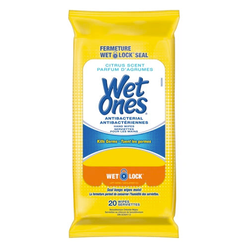 Wet Ones Tropical Splash Antibacterial Wipes (20pcs)