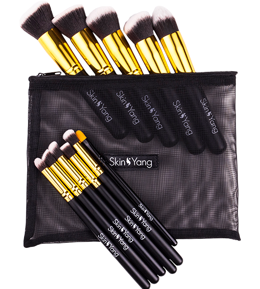 Skin & Yang Brush Set