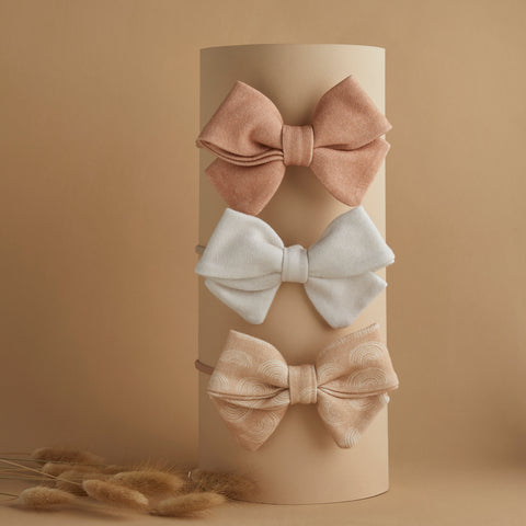 CAMILLA BOWS | MIX & MATCH ANY 3 | BABY BOW GIFT SET