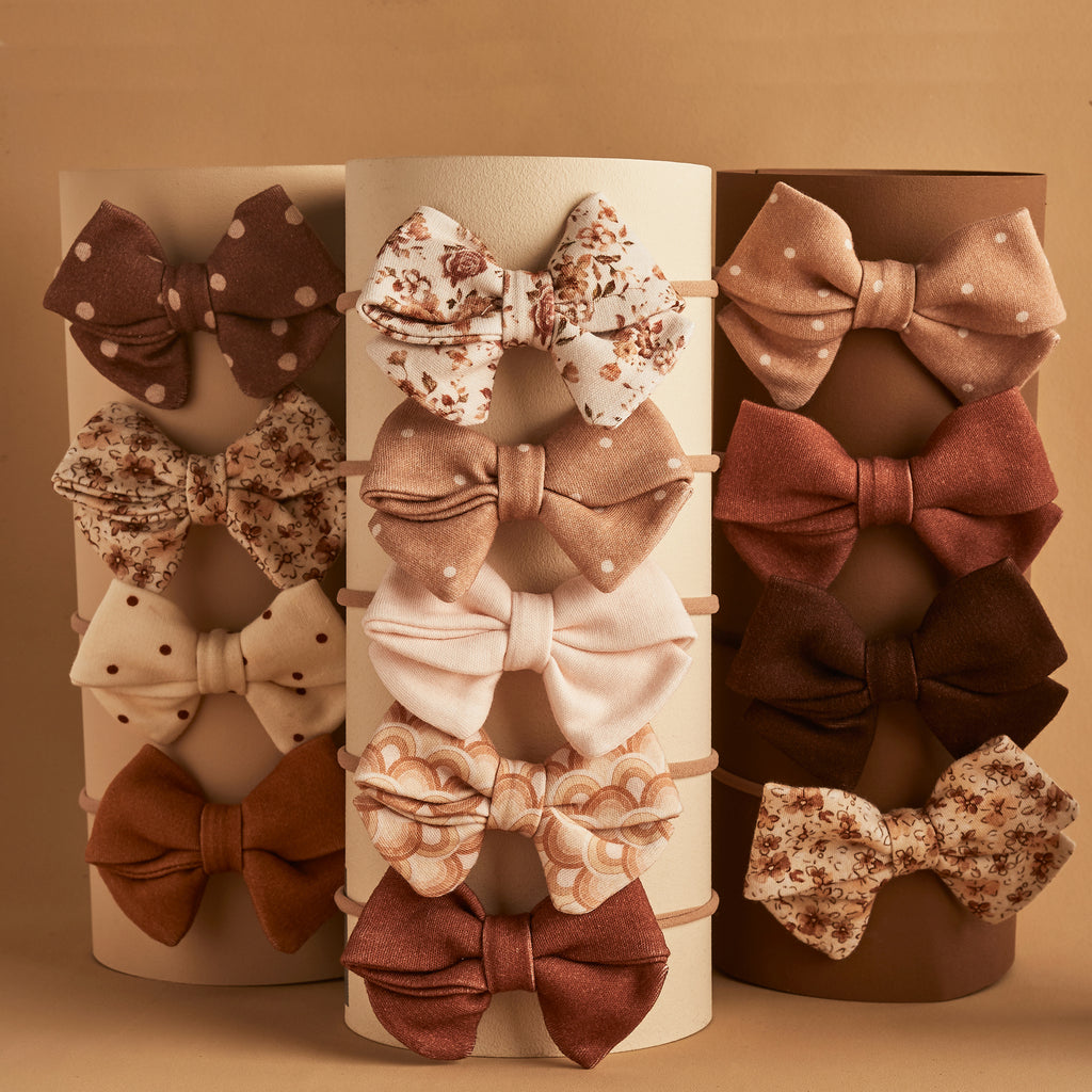 PIPER BOWS | MIX & MATCH ANY 3 | BABY BOW GIFT SET