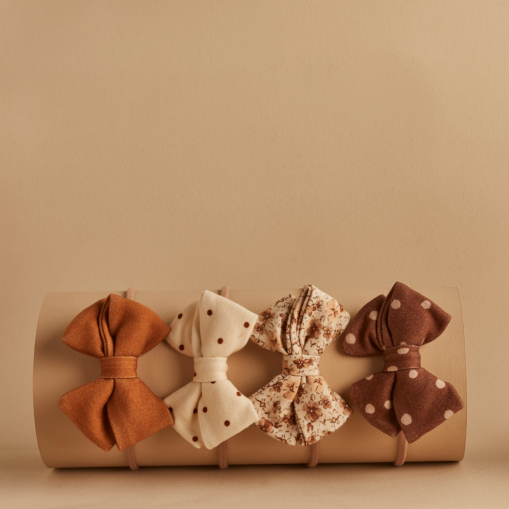 SET OF 4 | PIPER BOWS | VIVIAN - HARPER - INDIE - GINGER