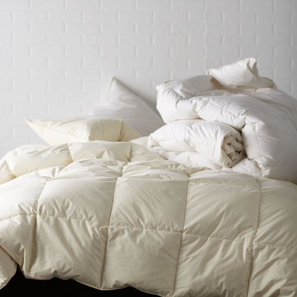MEDIUM WARMTH ORGANIC RDS DOWN COMFORTER