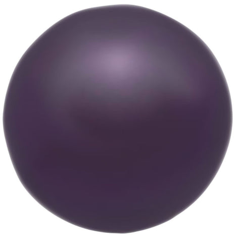 Swarovski Crystal Pearl - Dark Purple