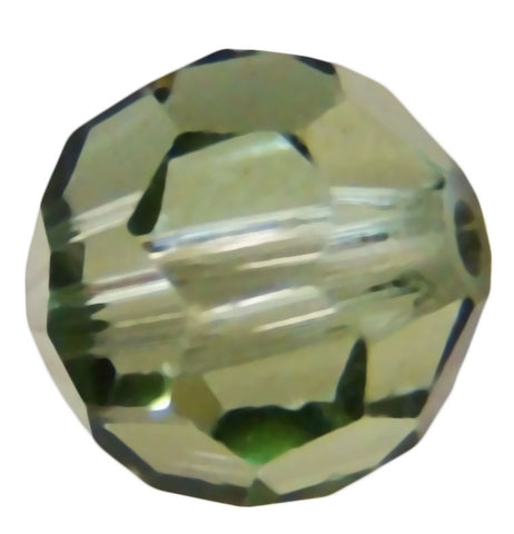 Swarovski Crystal Faceted Round - Chrysolite Satin