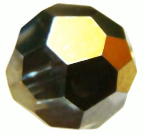 Swarovski Crystal Faceted Round - Crystal Dorado 2x