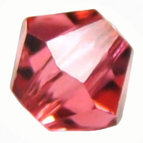 Swarovski Crystal Bicone - Indian Pink