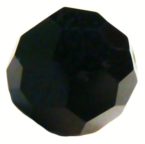 Swarovski Crystal Faceted Round - Jet