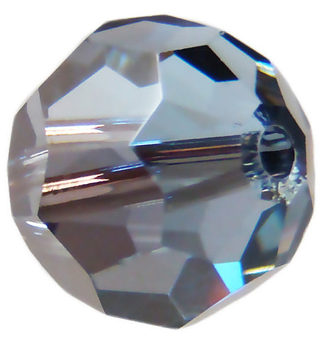 Swarovski Crystal Faceted Round - Light Sapphire Satin