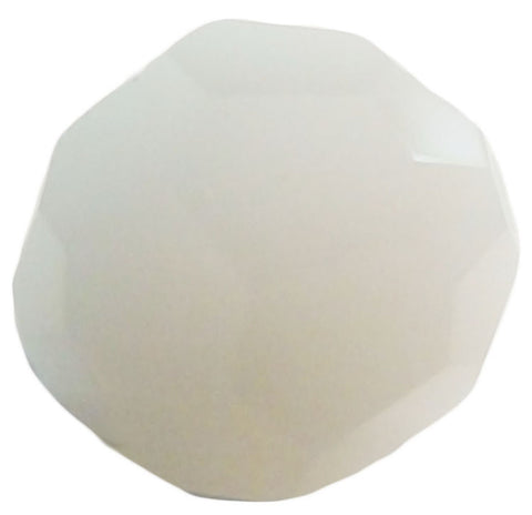 Swarovski Crystal Faceted Round - White Alabaster