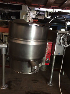 Crown 20gal jacketed steam kettle