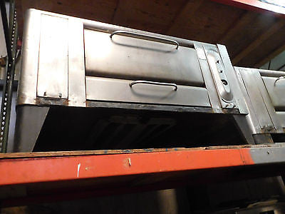 BLODGETT 961 DOUBLE STACK PIZZA OVEN