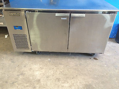 Coldtech U2CRR-16S 5 Ft Undercounter Refrigerator w/ 2 Stainless Doors