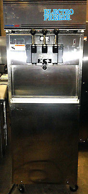 2010 Electro Freeze Frozen Yogurt / Soft Serve Ice Cream Machine 180T-RMT-232