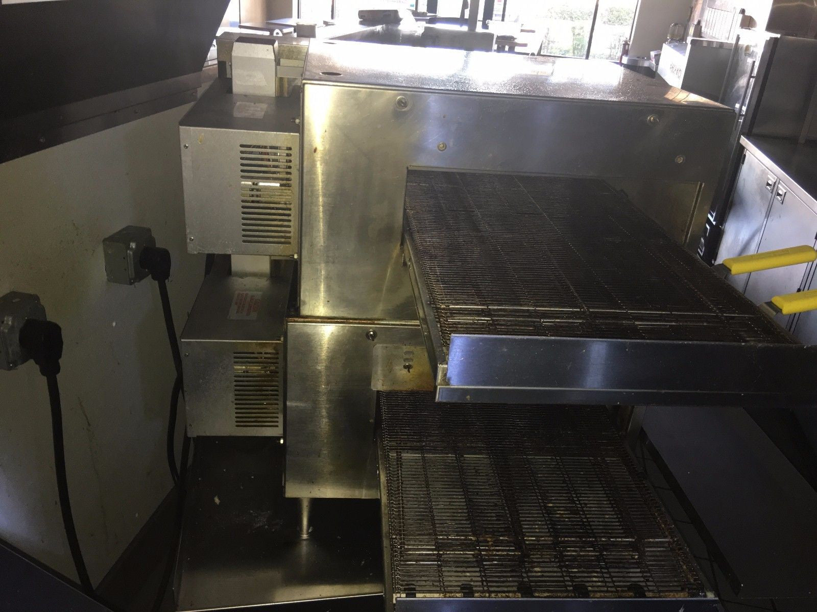 view pizza quick fast impinger p oven decks electric dominos baking back conveyor lincoln dtf