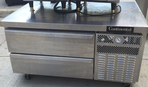 Continental DL48GF Freezer Griddle Stand / Chef Base