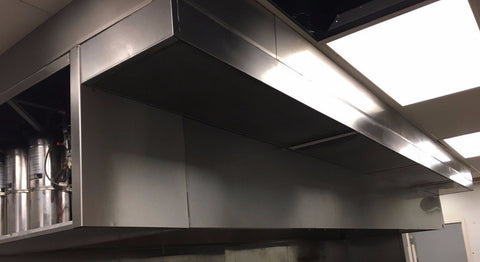 CaptiveAire Hood With Fans And Fire System - Multiple Sizes Available