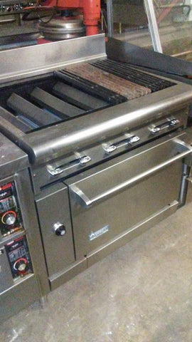 American Range Char Grill Broiler and Oven