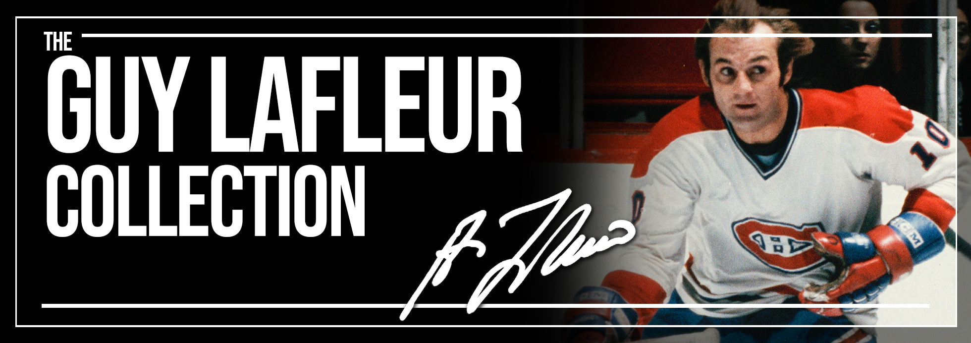 Guy Lafleur Collection Banner
