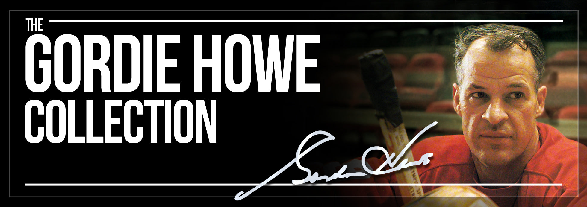 Gordie Howe Collection Banner