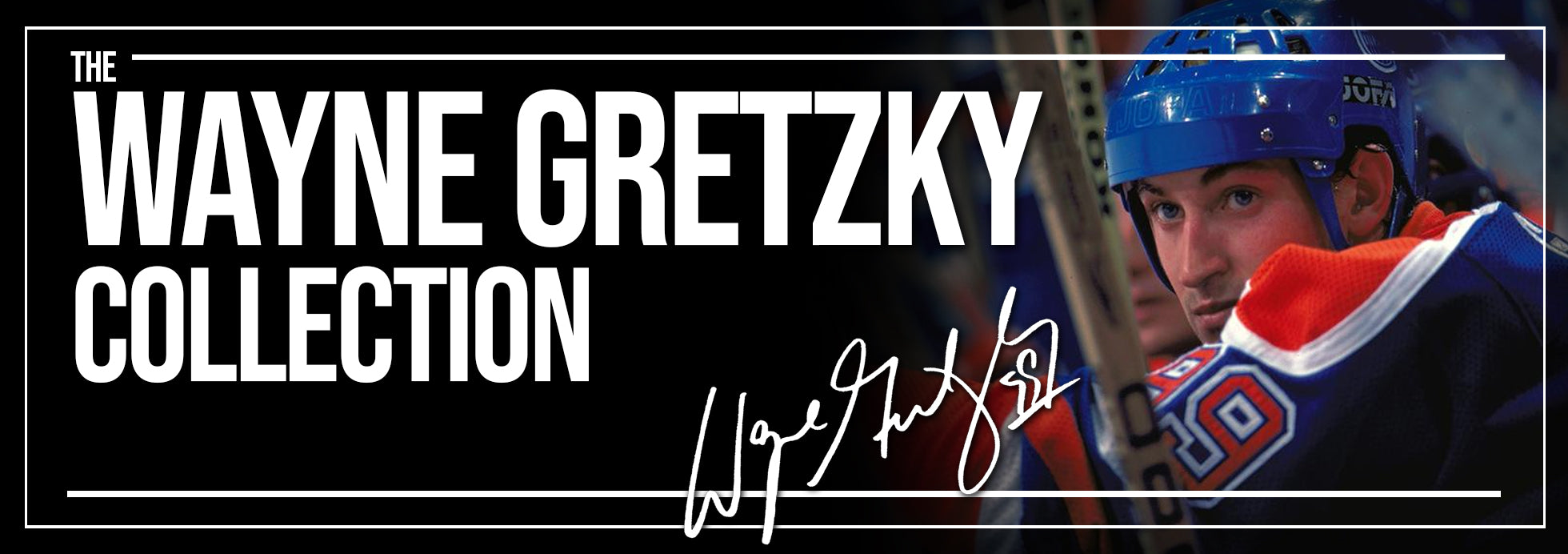 Wayne Gretzky Collection Banner