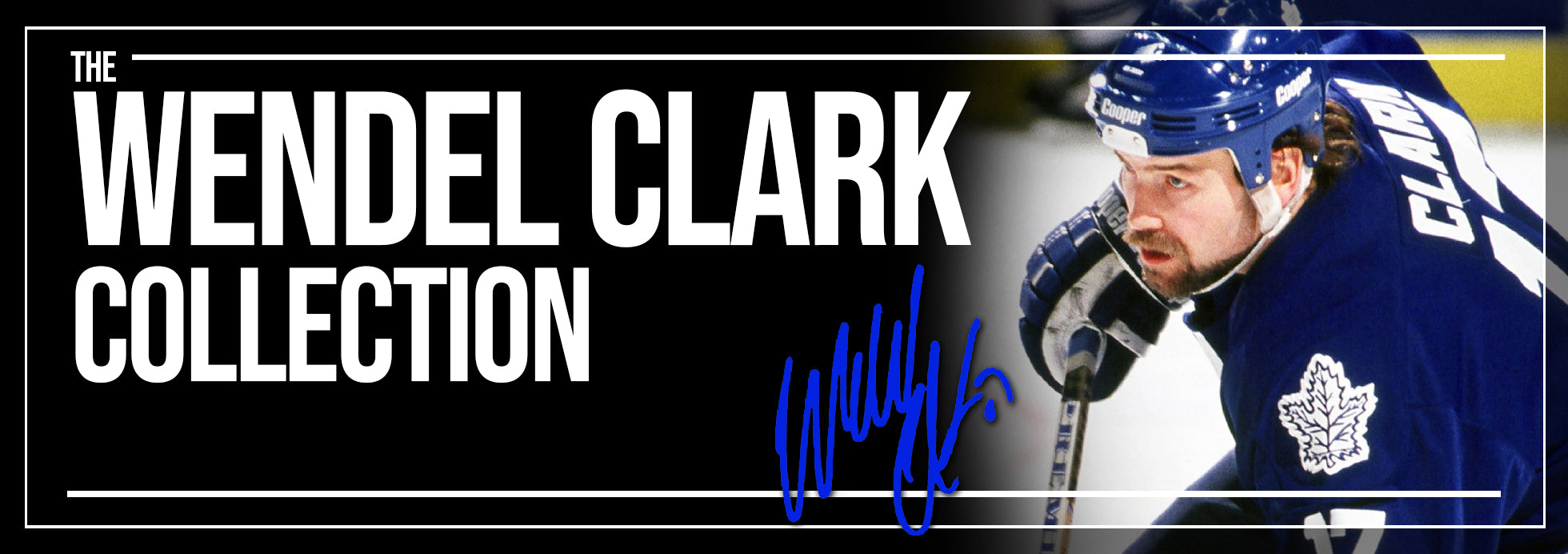 Wendel Clark Collection Banner