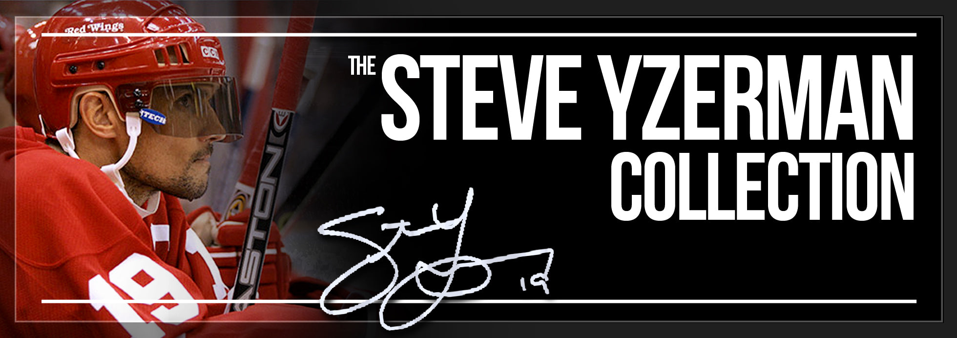 Steve Yzerman Collection Banner