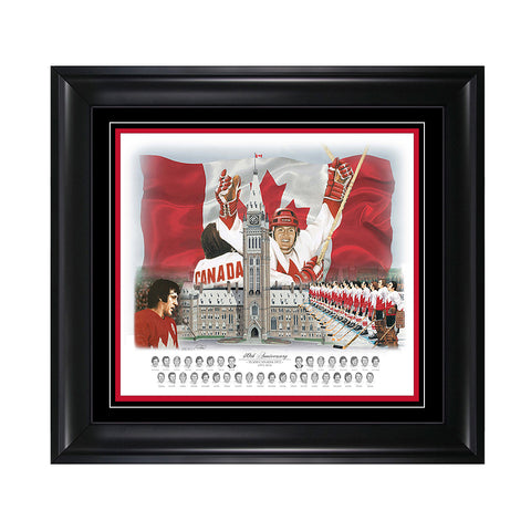 Team Canada '72 40th Anniversary Print