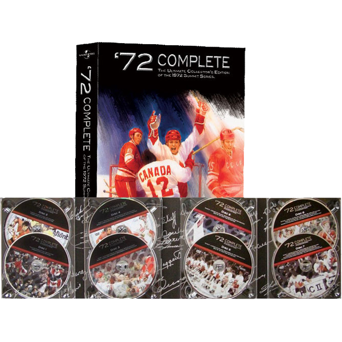 The Ultimate Collector's Edition DVD Set of the 1972 Summit Series
