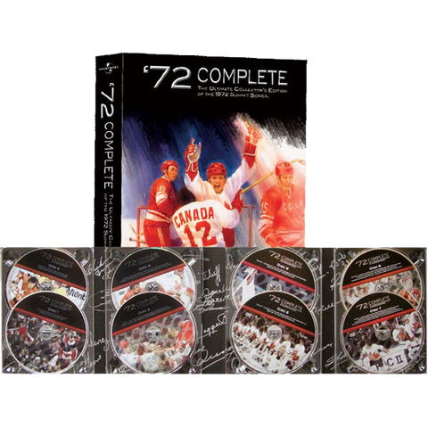 The Ultimate Collector's Edition DVD Set of the 1972 Summit Series - Heritage Hockey™