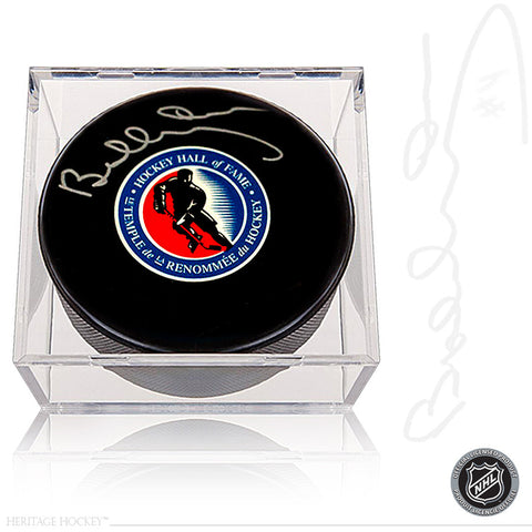 BOBBY ORR AUTOGRAPHED SIGNED HOCKEY HALL OF FAME PUCK