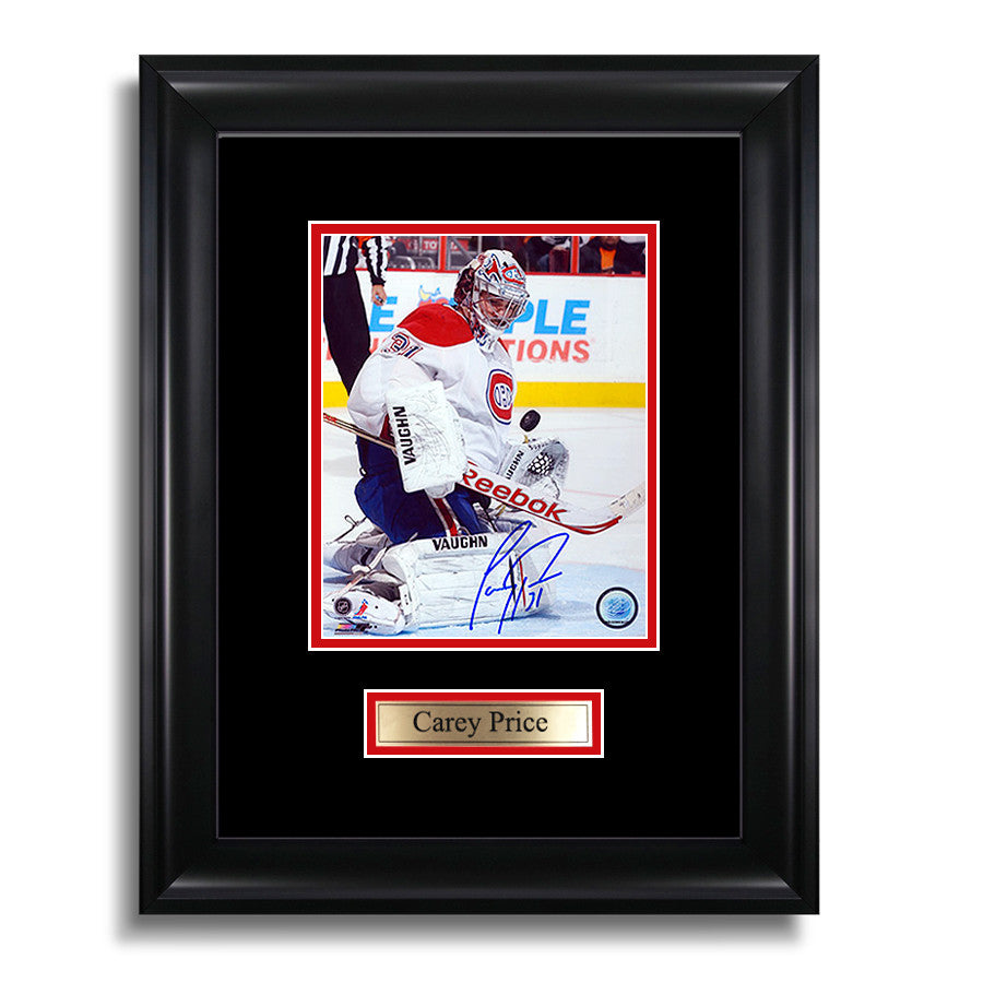 Carey Price Signed Montreal Canadiens Framed Photo