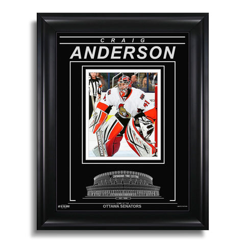 Craig Anderson Ottawa Senators Engraved Framed Photo - Focus