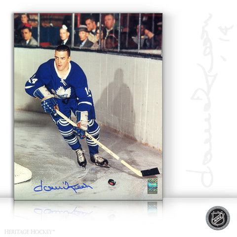 DAVE KEON AUTOGRAPHED SIGNED 8X10 PHOTO - TORONTO MAPLE LEAFS