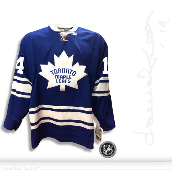reputable site d0628 12493 DAVE KEON AUTOGRAPHED SIGNED TORONTO MAPLE LEAFS CCM VINTAGE 1967 JERSEY