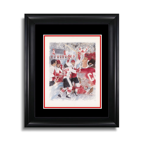 Paul Henderson Collage - Signed Limited Edition Summit Series Print