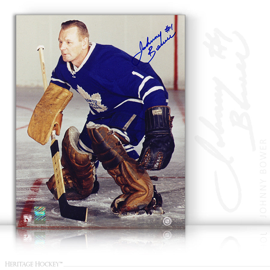 uusin pikatoimitus paras arvo JOHNNY BOWER AUTOGRAPHED SIGNED FOCUSED 8X10 PHOTO - TORONTO MAPLE LEAFS