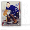 JOHNNY BOWER AUTOGRAPHED SIGNED FOCUSED 8X10 PHOTO - TORONTO MAPLE LEAFS