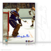 JOHNNY BOWER AUTOGRAPHED SIGNED GOALIE MASK 8X10 PHOTO - TORONTO MAPLE LEAFS